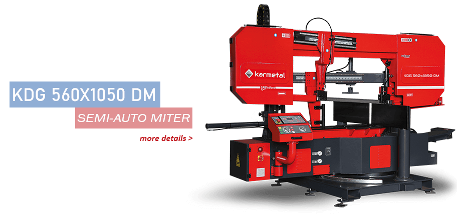 Kdg 560x1050 dm band saw machine