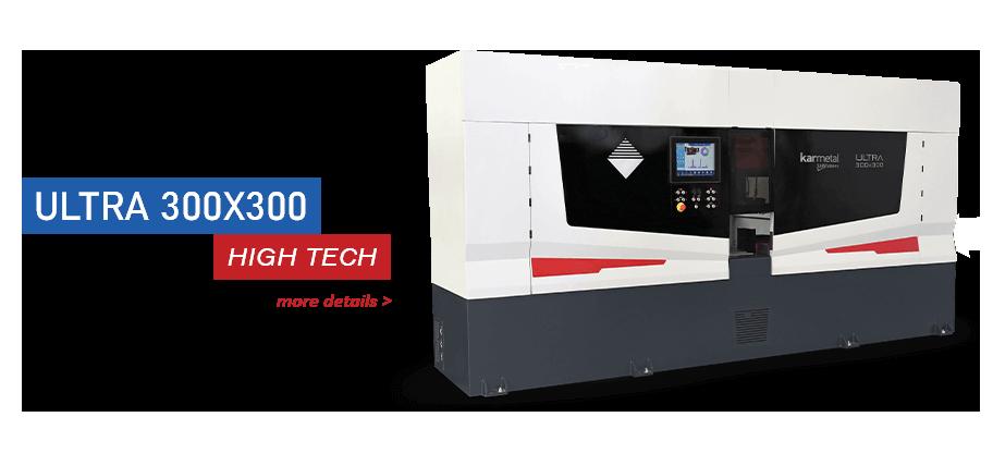 Ultra 300x300 band saw machine